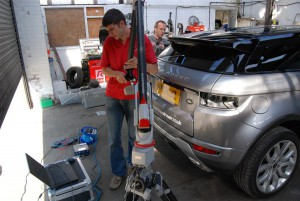 Range rover evoque 3d entire scan