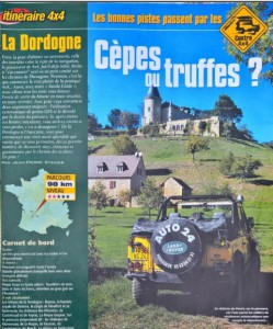 routes for green laning in France
