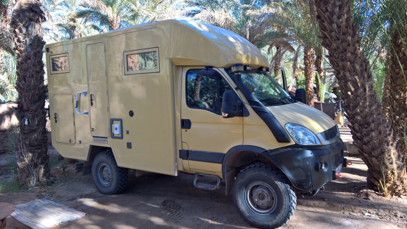 iveco 4x4 camper expedition