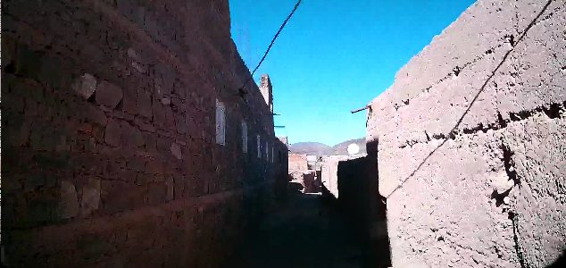 Tight villages in Morocco ?, you won't get your truck 4×4 motorhomes here.