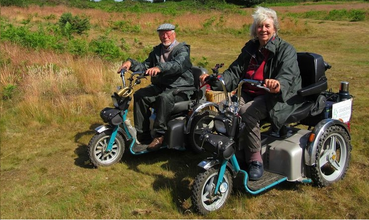 The Ramblers society actively promote off-road vehicles on footpaths.