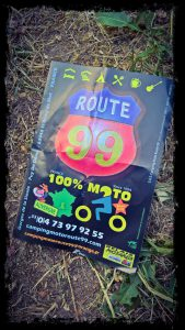 route 99 bike only camping in France