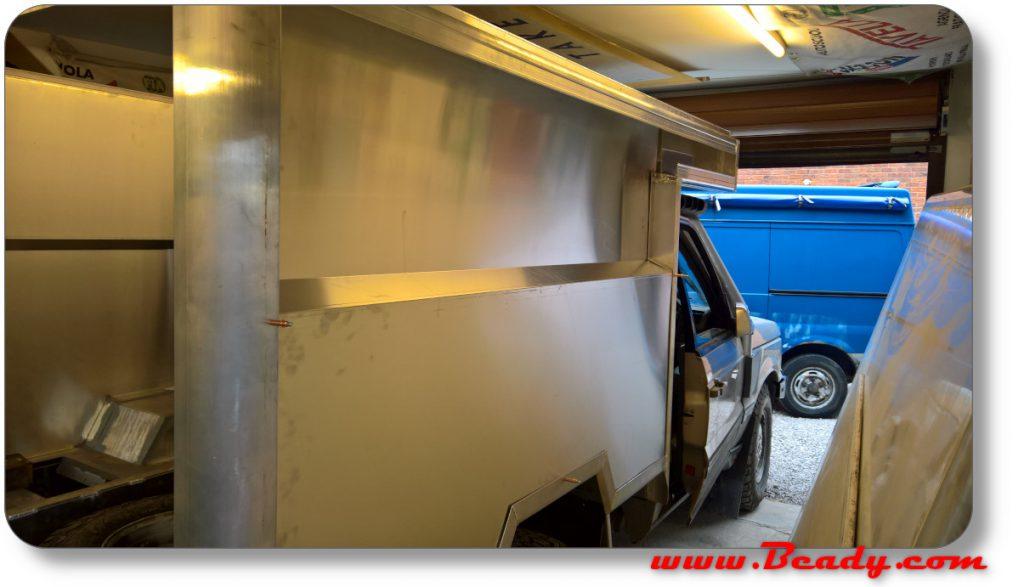 rear alloy box super light