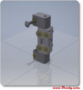 3d printed hinges for custom kitchen units in aluminium