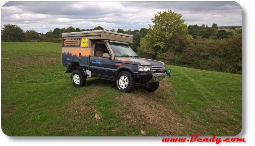 Land rover owner international photoshoot