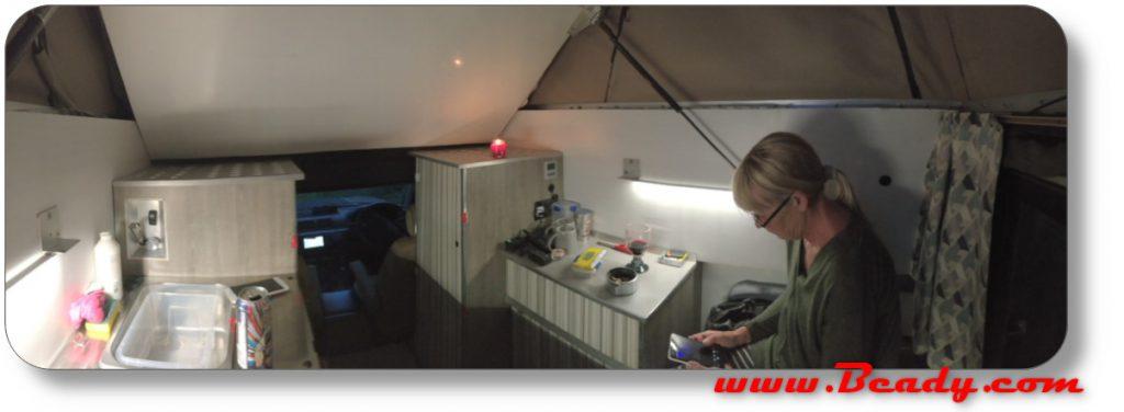 TARDIS motorhome interior