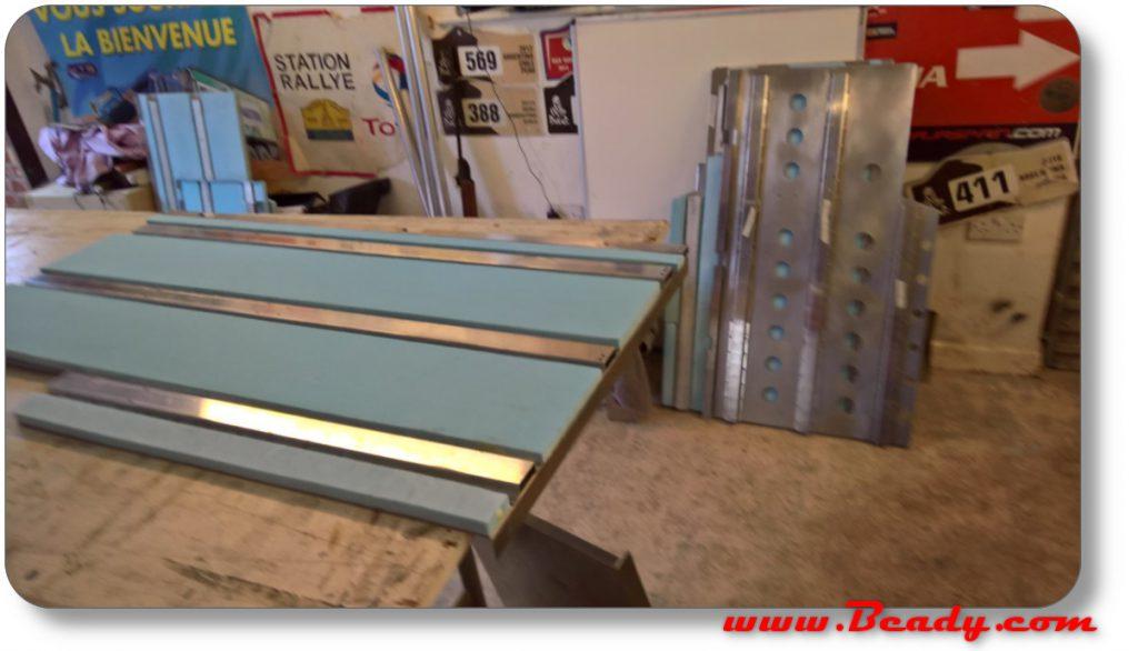 foam panel interior for campervan