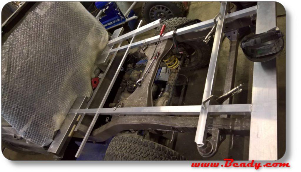alloy floor on range rover skeleton
