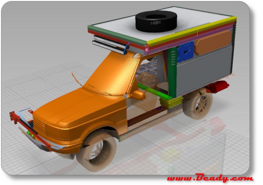 CAD model of Range rover hi detail
