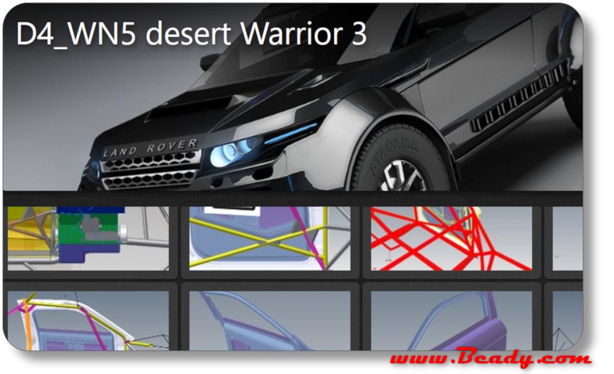 images of range rover dakar racer desert warrior