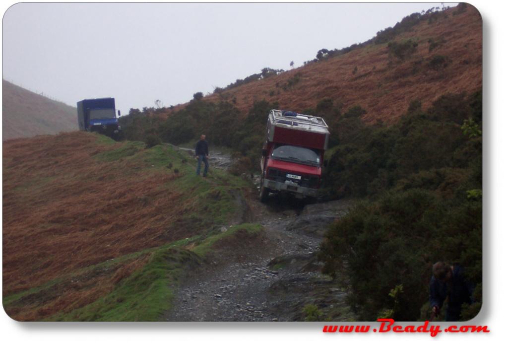rb44/s75 overland camper truck off roading