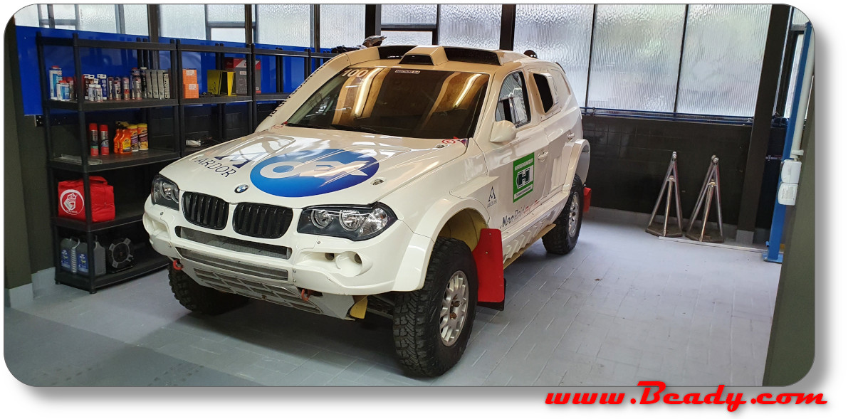 X-raid BMW X3 dakar race car 2006