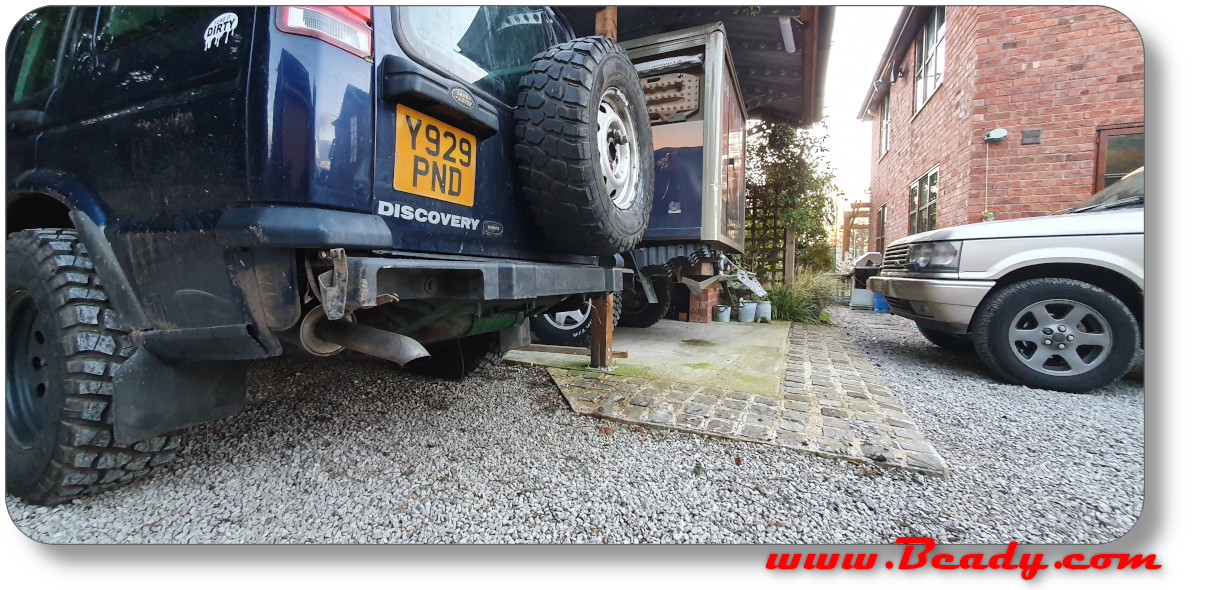 Discovery bumper, extreme lightweight