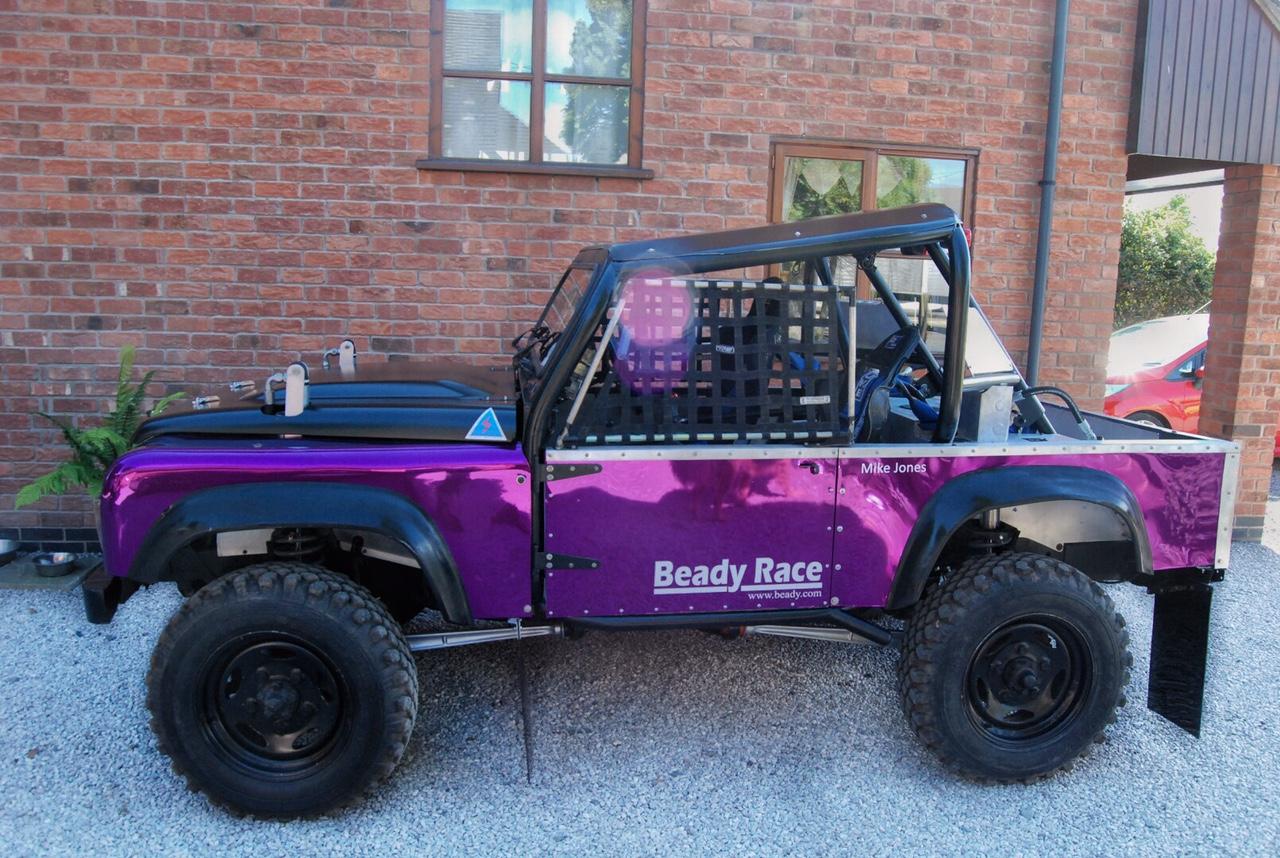 BeadyRace- Chloe Jones Race car