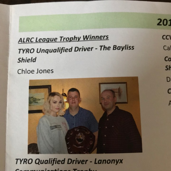 Chloe Jones - Staffordshire and Shropshire Land Rover Club