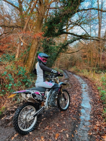 Chloe Anna Jones - Honda CRF 250R