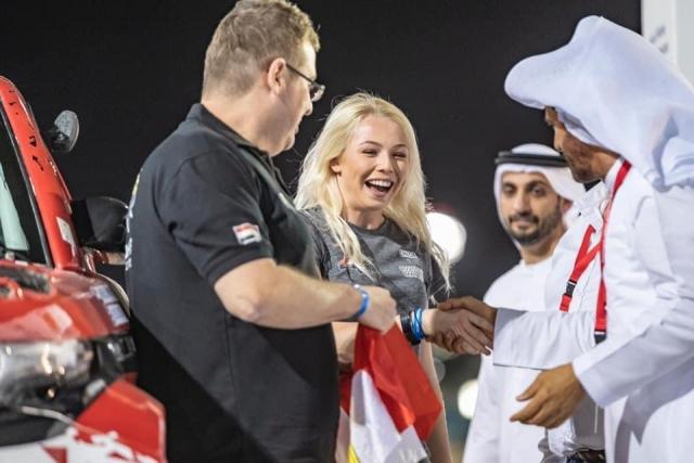 Chloe Jones - Abu Dhabi Desert Challenge